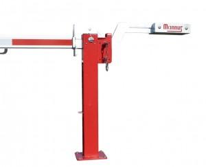 MANNUS WES 41 Gegengewicht mit verstellbarem Gegengewicht rot/weiß